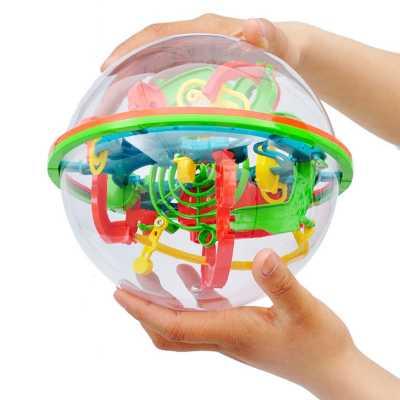 Магическа топка 3D пъзел и балансна игра