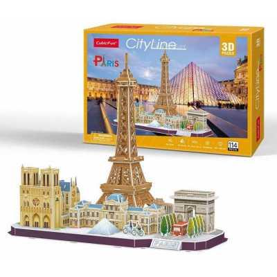 Пъзел 3D Париж City Line Paris 114 pcs. MC254h