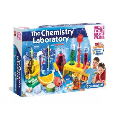 Голяма химична лаборатория Clementoni Science Play 61284