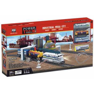 Train set 26 pcs with tanks Power train 21815