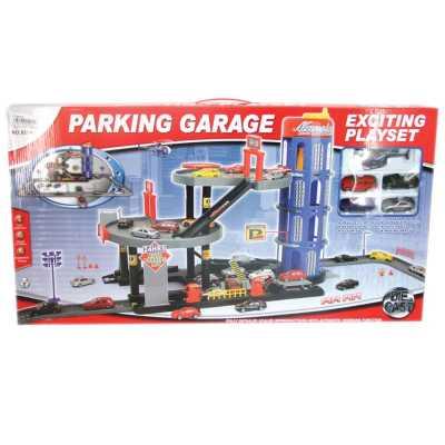 Паркинг - гараж на 3 нива с 4 Коли и Хеликоптер OCIE OTG0859658