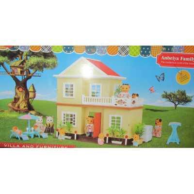 Вилна къща с аксесоари Anbeiya Family OCIE OTG0861819