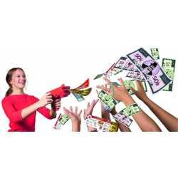 Игра Кеш - машина за изстрелване на банкноти Cash