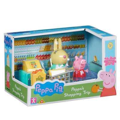 Игрален комплект Peppa Pig Прасе Пепа - две фигурки със супермаркет