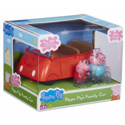 Комплект Кола със звуци и 2 бр. фигурки Прасе Пепа Peppa Pig