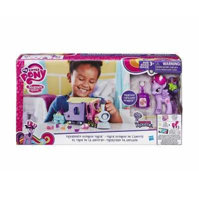 Влакче Моето малко пони - Екуестрия влак на приятелството My little pony