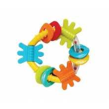 Дрънкалка-гризалка Play Gro, триъгълник