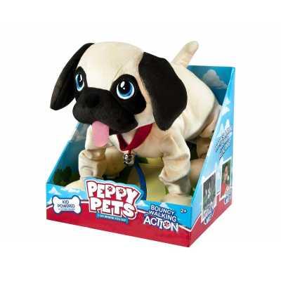 Интерактивно куче мопс -плюшен любимец за разходка Баунси - кученце Мопс Peppy Pets