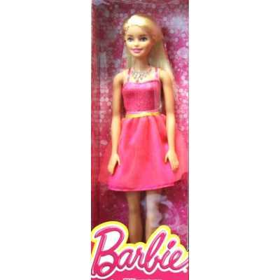 Кукла Барби Barbie - Блясък, розова рокля