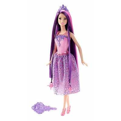 Кукла Барби Barbie - Принцеса с дълга лилава коса