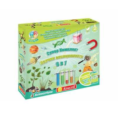 Образователна игра - Супер комплект научни експерименти  6 в 1