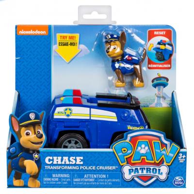 Пес патрул Трансформираща се полицейска кола на Чейс Paw patrol