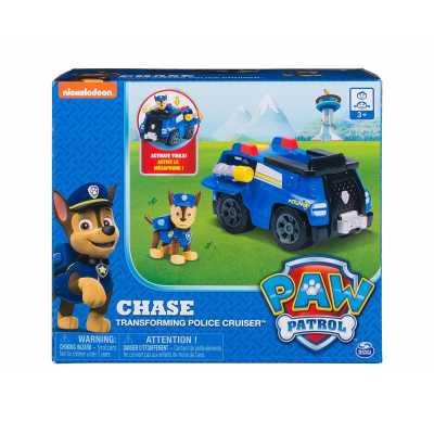 Пес патрул - Трансформираща се полицейска кола на Чейс Paw Patrol