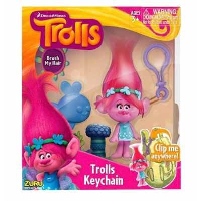 Мека фигура Тролче Trolls в луксозна кутия