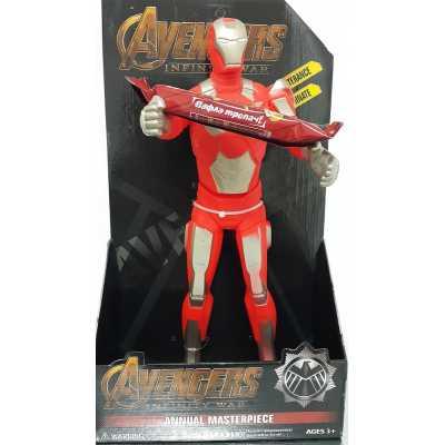 Голяма фигура на Железния човек 40 см. - със звук и светлина, Iron man