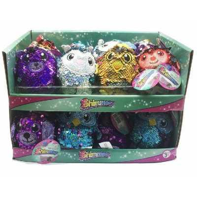 Шимис меки играчки с блестящи пайети Shimmeez Малки 10 см.