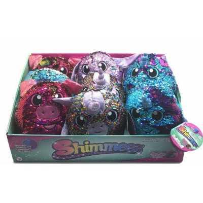 Шимис Плюшени играчки с блестящи пайети. Средни 20 см. Shimmeez