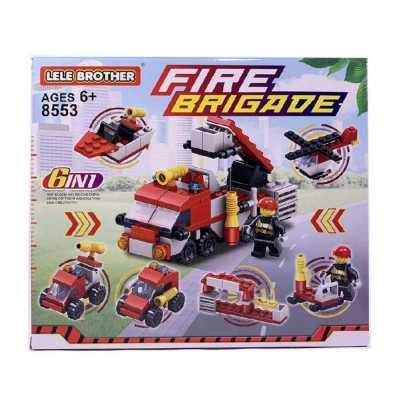 Конструктор Пожарна техника 6 модела 119 елемента