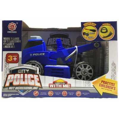 Детски камион Полицейски влекач разглобяем
