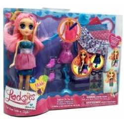 Кукли със сменящи се тоалети Locksies Fashion
