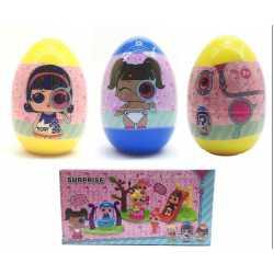 Кукла ЛОЛ от серията Eye Spy Комплект яйце 3 вида, 14 см, LOL