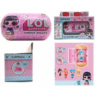 Кукла ЛОЛ капсула шпионки – чанта, свети, колекция с 15 изненади LOL