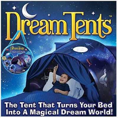 Детска палатка за лека нощ с лампа