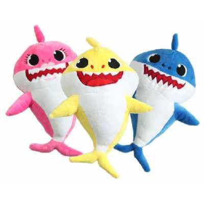 Плюшена акула Шарко с оригинална песен 25 см.