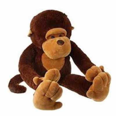 Голяма гушкаща маймуна 60 см. разказвач