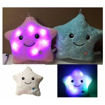 Плюшени светещи звезди 35 см.