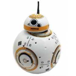 Дроид Супер Уорс издава звук и светлина с дистанционно управление Super Wars BB8 droid