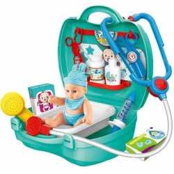 Професии Докторски комплект 17 части с бебе