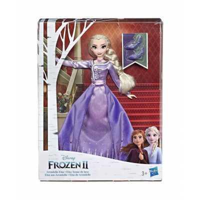 Кукла Елза делукс Замръзналото кралство Hasbro Frozen 2 Arendalle E6844