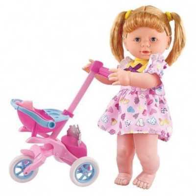 Комплект Кукла Бела с количка