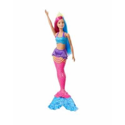 Кукла Русалка със синьо бюстие Barbie Dreamtopia Mattel