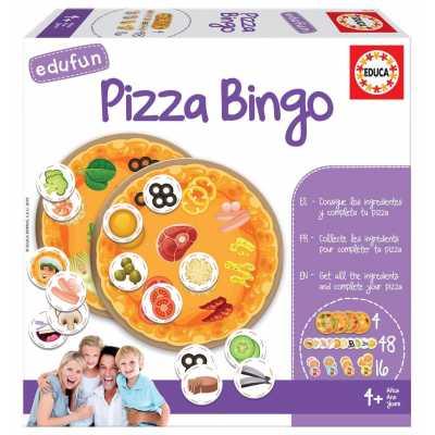 Забавна игра Пица Бинго
