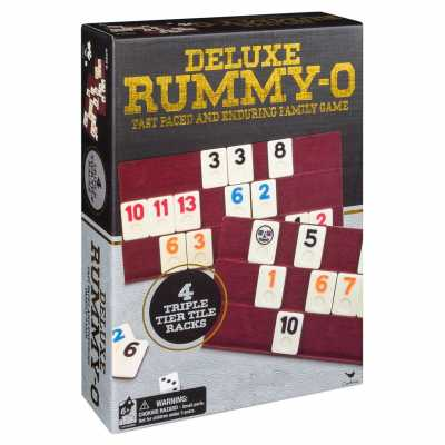 Настолна игра Rummy-O Deluxe Spin Master