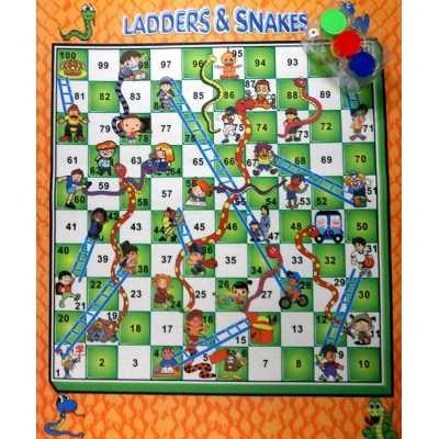 Игра Змии и стълби за земя