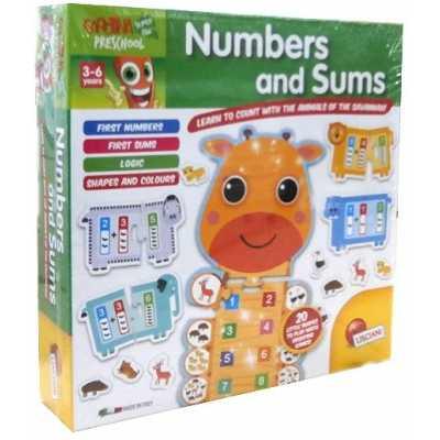 Предучилищни занимания с числа и събиране Lisciani