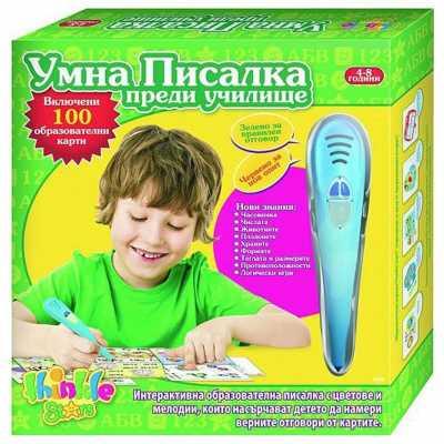 Интерактивна умна писалка - Преди училище 4 - 8г. Thinkle Stars