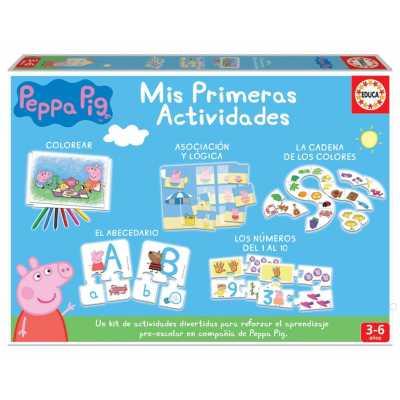 Образователна игра Моите първи занимания Peppa Pig Прасе Пепа Educa