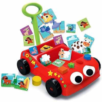 Голям комплект Автомобил със занимателни игри Lisciani Carotina Baby