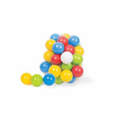 Професионален комплект 60 бр. меки топки 8 см., издържащи тегло до 80 кг.