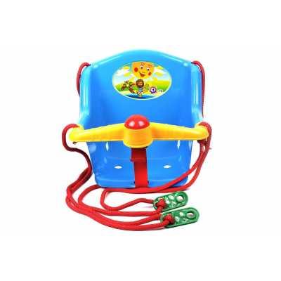 Детска пластмасова люлка 3 цвята Technok 36х36х40