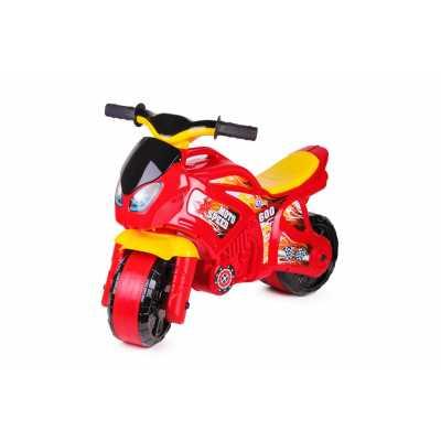 Детски червен мотор за баланс с бандаж Technok 72 х 35 х 52 см.