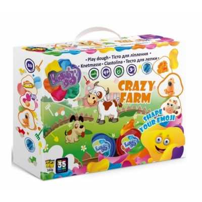 Play Dough Set Crazy farm 560 g 20 colors